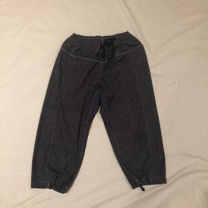 Lululemon gray cropped pants
